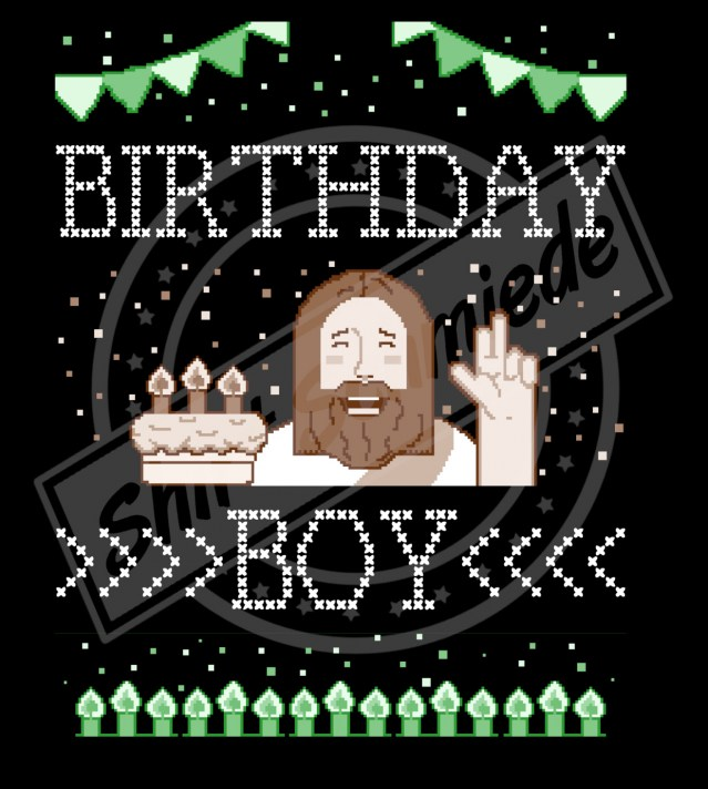 Birthdayboy Ugly Shirt Watermark