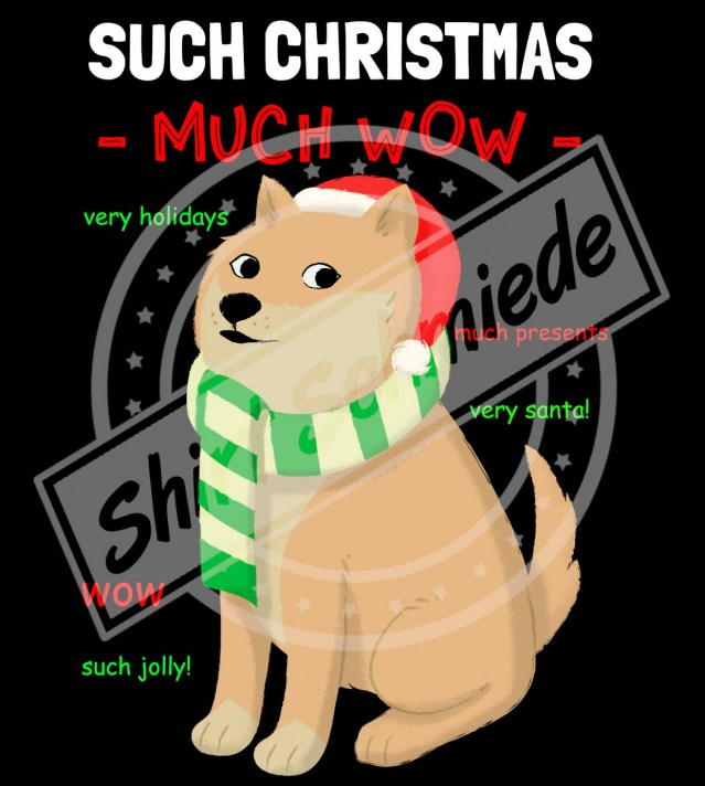 Doge Christmas Watermark